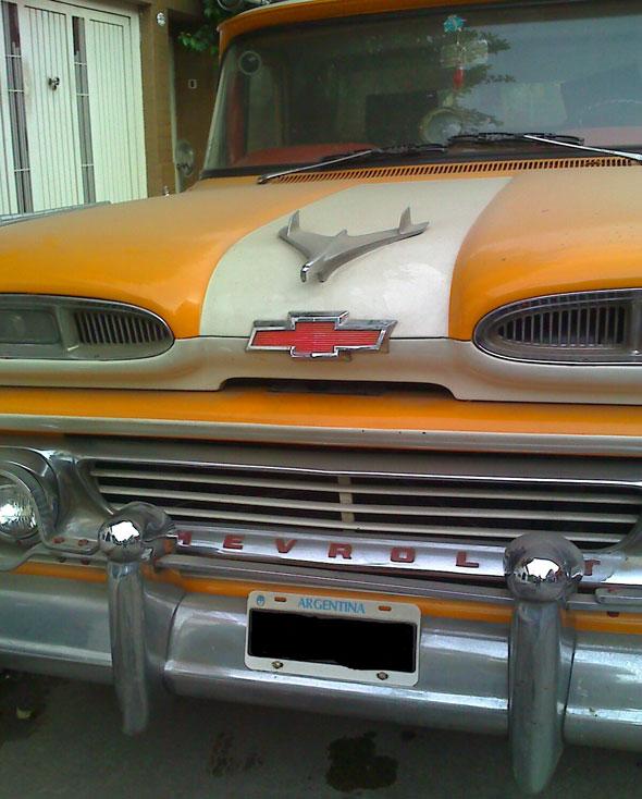 Auto Chevrolet Apache 1960