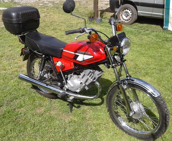 Moto Honda MB100 1981