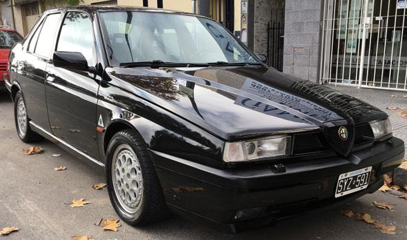 Car Alfa Romeo 155 Q4