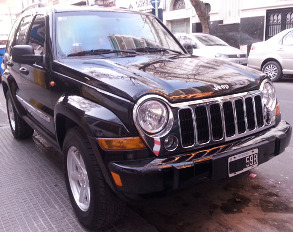 Car Jeep Cherokee Liberty 2007