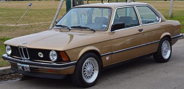 Car BMW 316 E21 1981