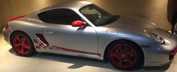Auto Porsche Cayman S