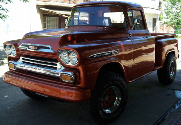 Car Chevrolet Viking 1959 Pick Up