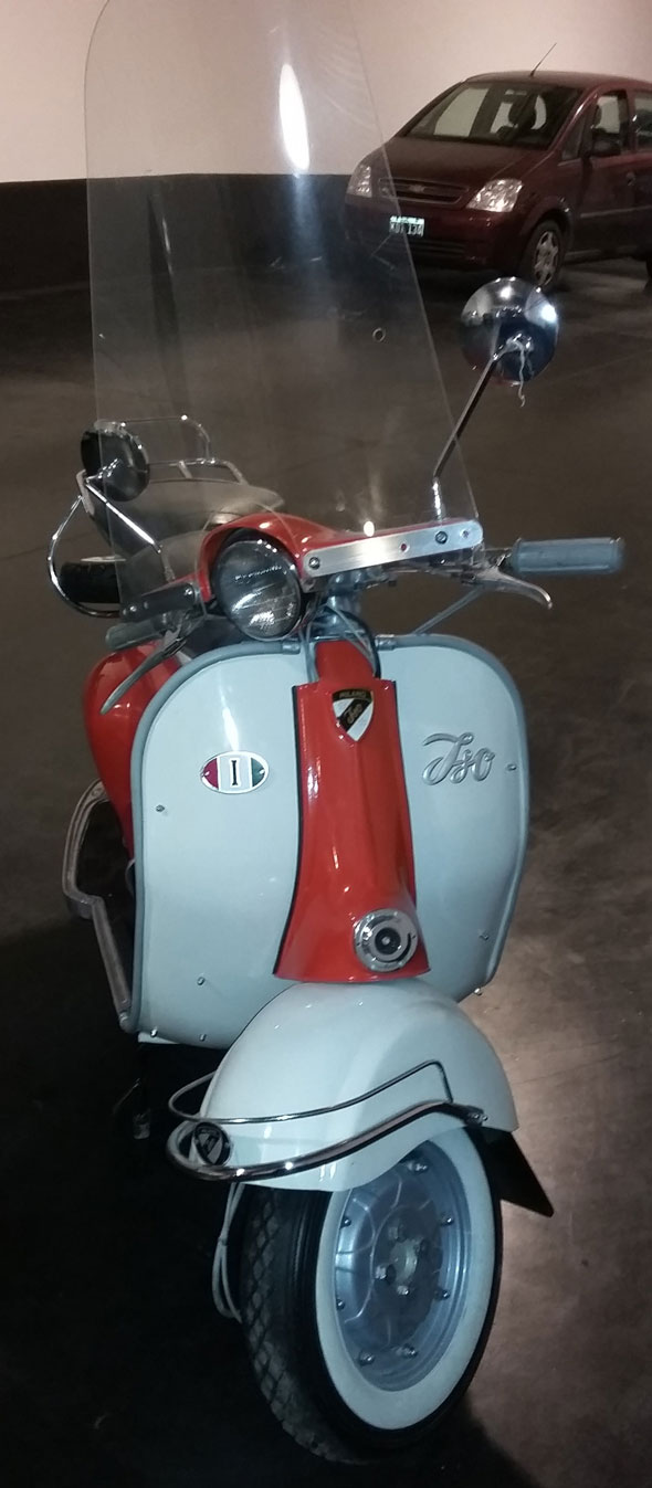 Motorcycle ISO 150
