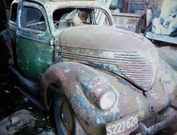 Car Willys Sed�n 1938