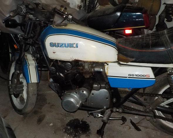 Motorcycle Suzuki GS1000S 1981