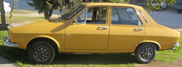 Auto Renault 12 1973