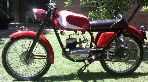 Motorcycle Vicentina 1961