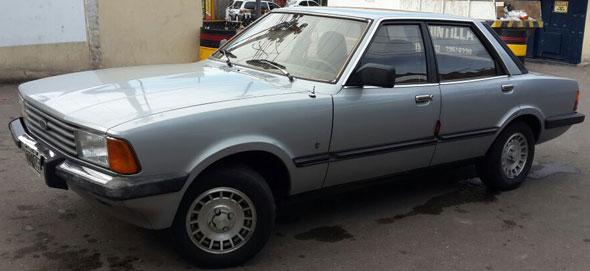 Car Ford Taunus 1984