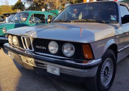 Car BMW 323i E21 1981