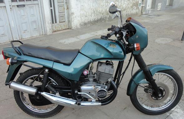 Motorcycle Jawa Style