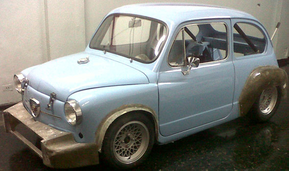 Car Fiat 600 Abarth Réplica
