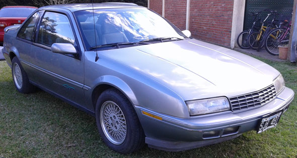 Auto Chevrolet Beretta 1992 GT