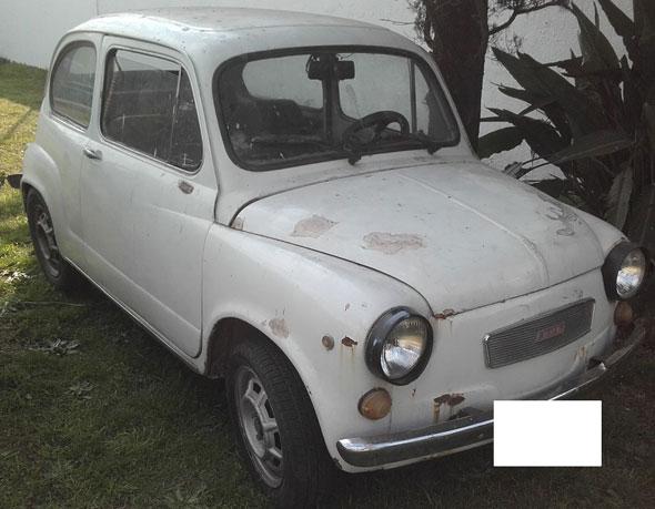 Car Fiat 600 1976