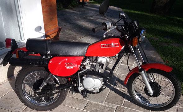 Motorcycle Honda XL 80