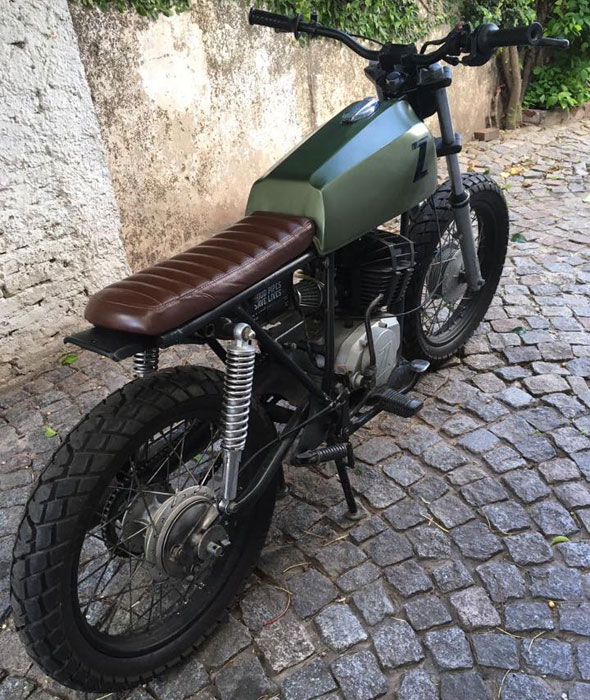 Moto Zanella NT 200