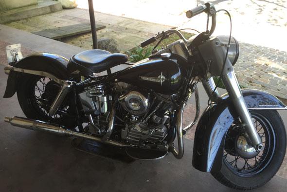 Harley Davidson 1961 Duo Glide Motorcycle