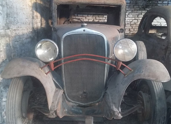 Auto Chevrolet 1932 Coupé
