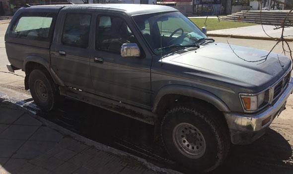 Auto Toyota Hilux SR5 Doble Cabina 4x4 Cúpula 1997