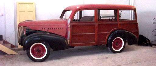 Car Chevrolet Woody Wagon 1939