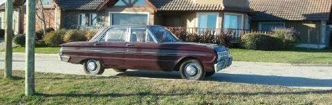 Car Ford Falcon 1968