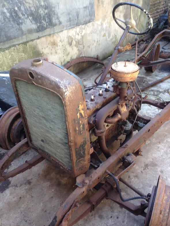 Car Studebaker Erskine