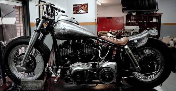 Moto Harley Davidson Shovelhead