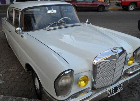 Car Mercedes Benz 220 S 1962