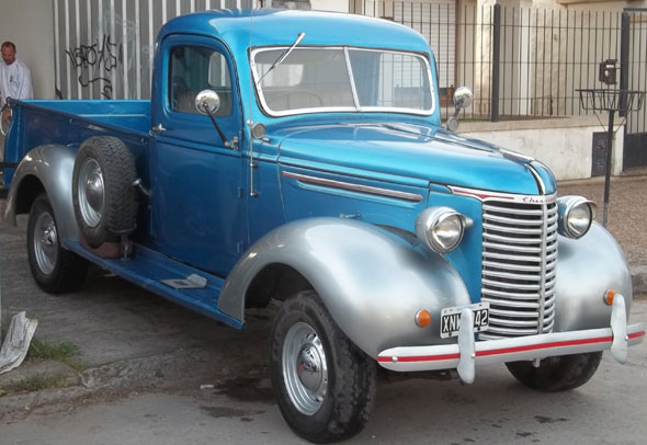 Car Chevrolet Pick Up 1939