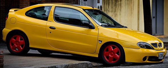 Auto Renault Megane Coupé