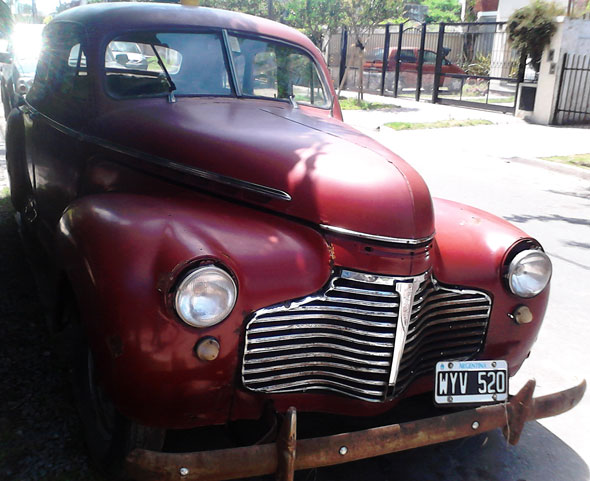 Car Chevrolet Master 1941