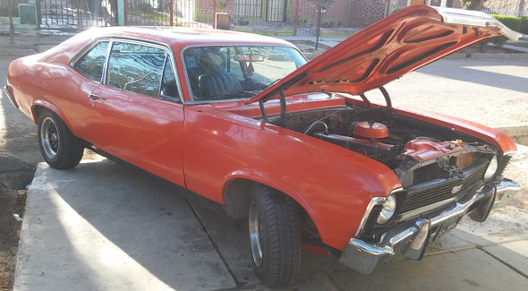 Car Chevrolet Chevy SS 1971