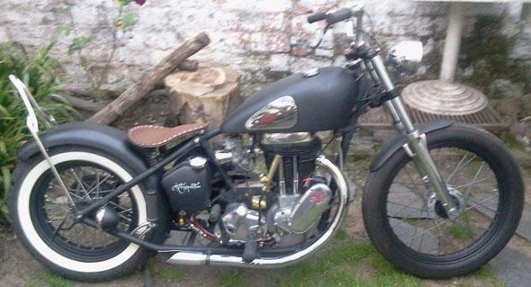 Moto AJS 1949