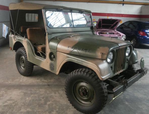 Auto Jeep M38A1