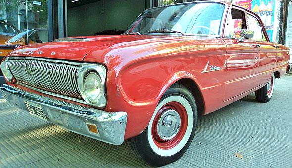Car Ford Falcon 1962