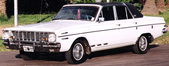 Car Valiant IV 1966