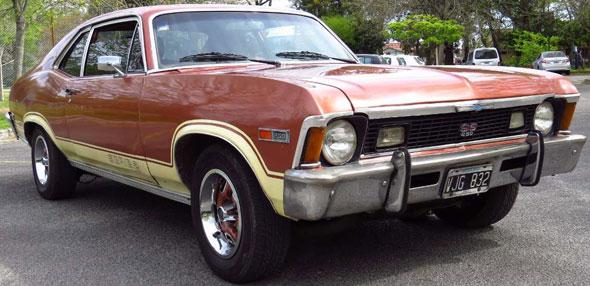 Auto Chevrolet Chevy Coupé 1978