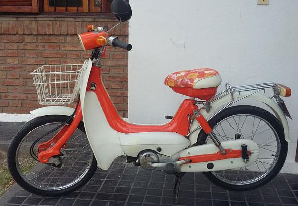 Motorcycle Suzuki M50