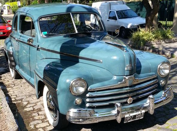 Car Ford Coupé