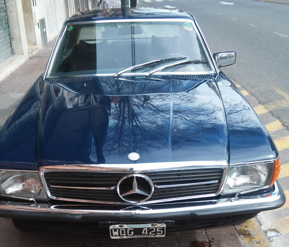 Auto Mercedes Benz 350 SLC