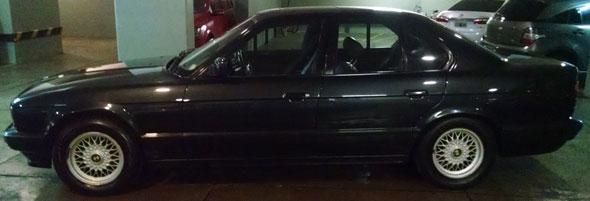 Car BMW 520i