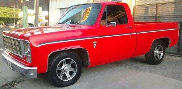Auto Chevrolet C-10 1974