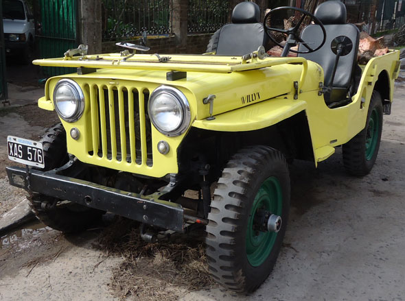 Auto Willys Jeep 4x4