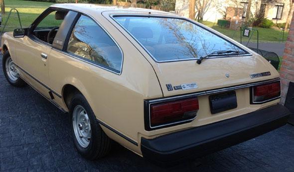 Auto Toyota Célica 1980