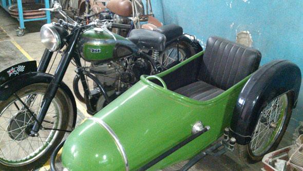 Motorcycle BSA 1948