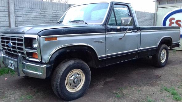 Car Ford Ranger 150 1981