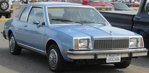 Car Buick Skylark Coupé Limited