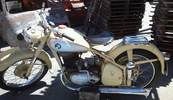 Motorcycle Puch TF 250