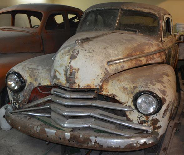 Car Chevrolet 1947 Fleetmaster
