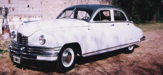 Car Packard Sedán